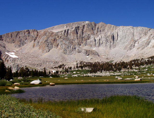 Cottonwood Lakes Elevation : Carol s mt langley and miter basin with pictures